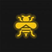 Ikona včelí žluté záře