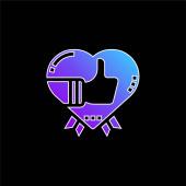 Ikona modrého přechodu ocenění