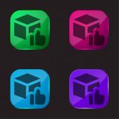 Schváleno čtyři ikony barevného skla
