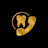 Ernennung vergoldet metallisches Symbol oder Logo-Vektor