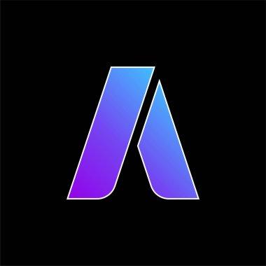 Adwords blue gradient vector icon