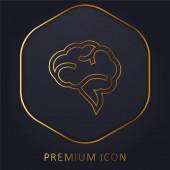 Logo nebo ikona bonusové prémie Brain Speech Bubble