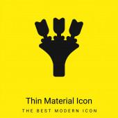 Bouquet minimale leuchtend gelbe Material Symbol