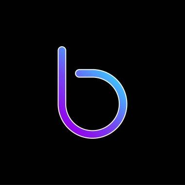 Bebo Logo blue gradient vector icon stock vector