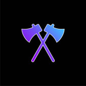 Ikona modrého přechodu os