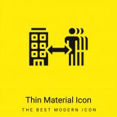 B2b minimális világos sárga anyag ikon