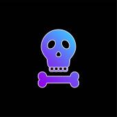 Ikona Bones blue gradient