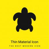 Big Turtle minimális fényes sárga anyag ikon