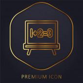 Logo nebo ikona prémie na tabuli