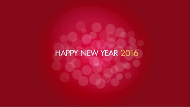Nový rok 2016 koncept
