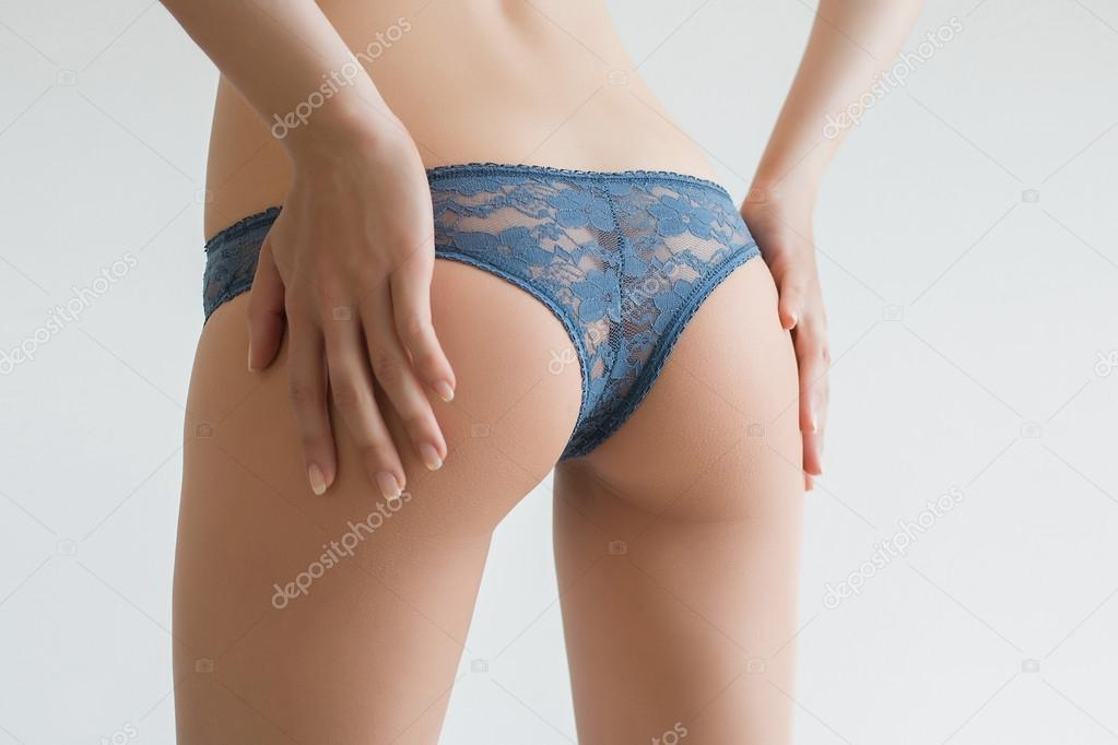Girl butt thong — 6