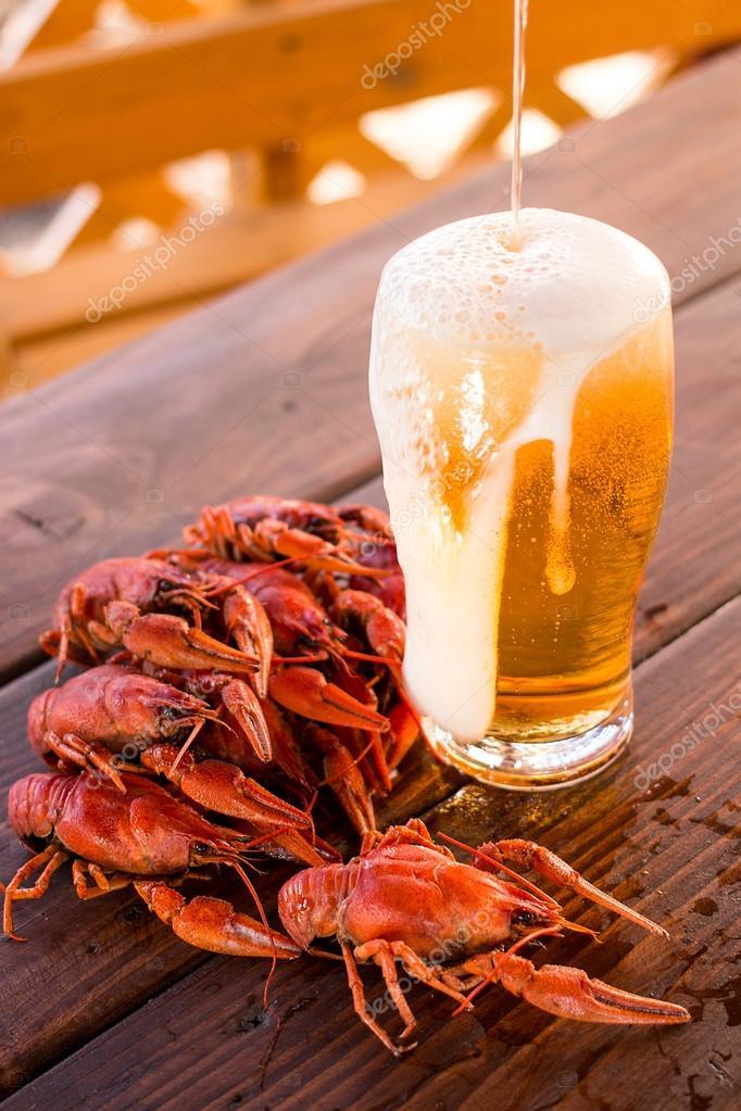 Прикольные картинки с пивом и вареными раками