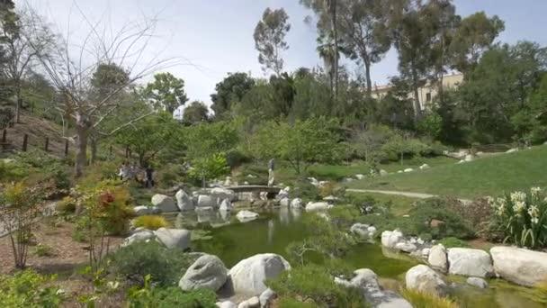 Záběry z japonské zahrady