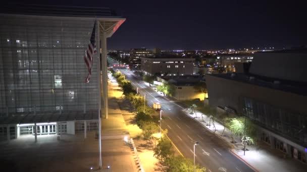 Straße nahe dem Gerichtsgebäude der Vereinigten Staaten, Vereinigte Staaten von Amerika