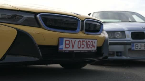 Přední pohled na BMW