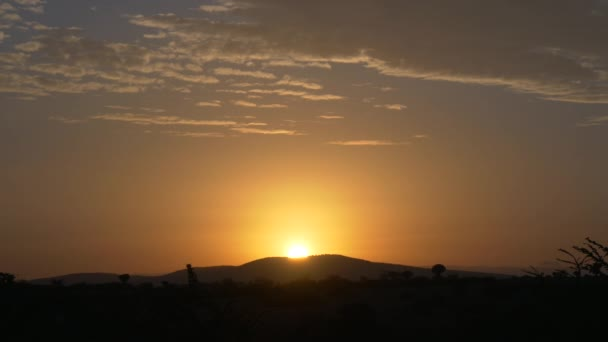 Sunrise over Africa scenic view