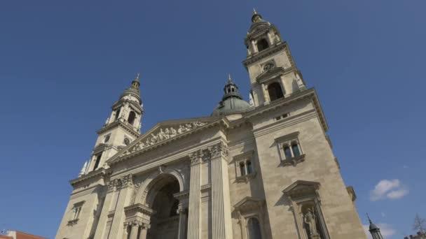 A Szent István Bazilika tornya Budapesten