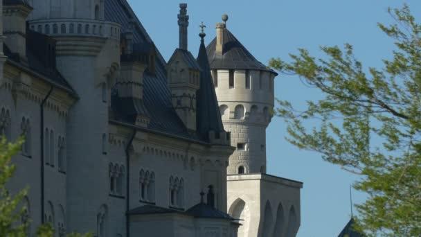 Blick auf Schloss Neuschwanstein in Deutschland