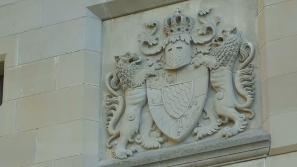 Wappen Ludwigs II. auf Schloss Neuschwanstein