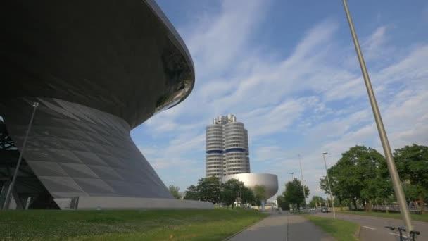 BMW World a Petuelring street