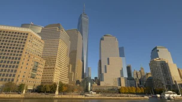 Dolní Manhattan s mrakodrapy
