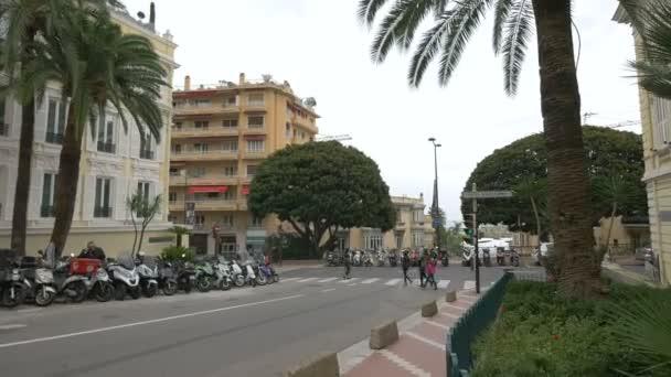 Straßenansicht in Monaco