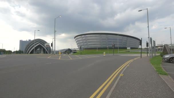 A conjunction near the SECC in Glasgow