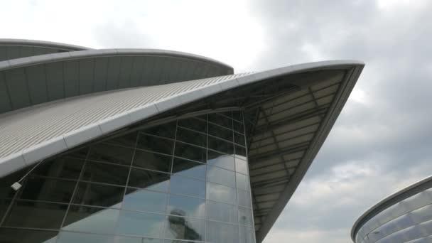 Close up of the Clyde Auditorium