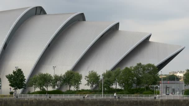 The arches of the Clyde Auditorium in Glasgow