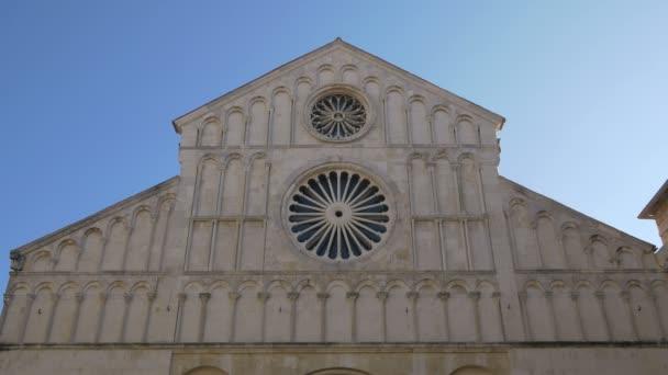 Růžová okna zadarské katedrály