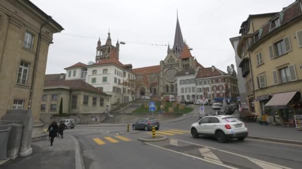 Jízda na Rue Pont Charles Bessires, Švýcarsko
