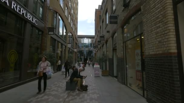 People relaxing in Slingsby Place