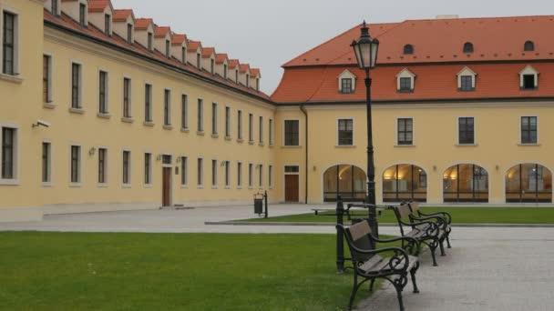 Vnitřní nádvoří Bratislavského hradu