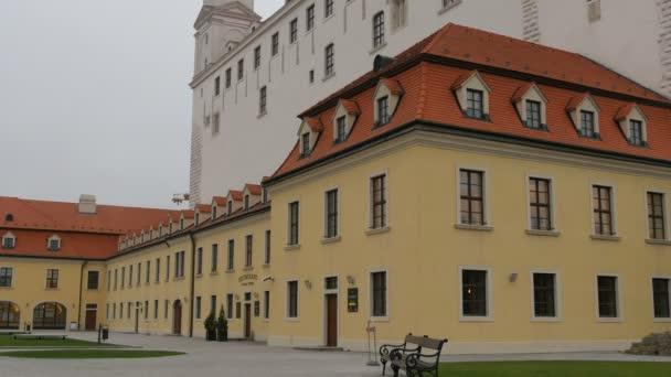 pohled na Bratislavský hrad, Slovensko