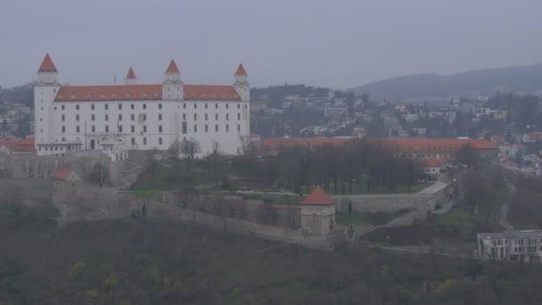 Město Bratislava s hradem