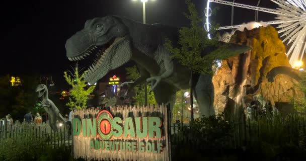 Dinosaurus Dobrodružné golfové znamení