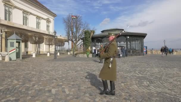 Őrségváltás a Királyi Kastélyban, Budapest