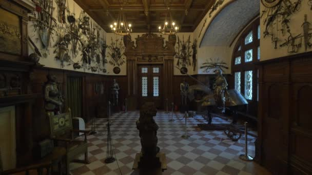 The armory in Peles Castle
