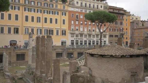 The ruins in Largo di Torre Argentina square, Rome