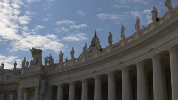 The colonnades in Saint Peters Square