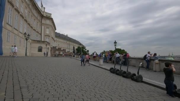 Hradčanské náměstí v areálu Pražského hradu