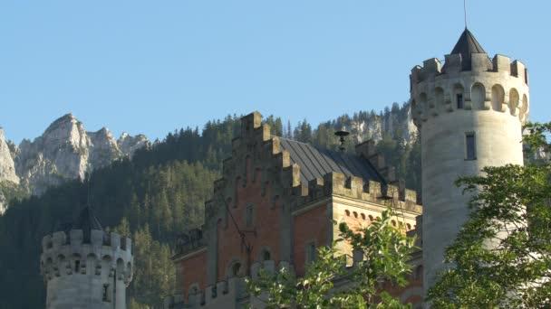 Zwei Treppentürme auf Schloss Neuschwanstein