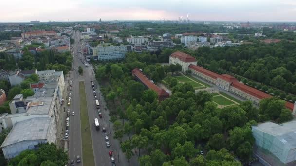 Luftaufnahme einer Straße in München