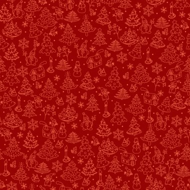 Christmas background seamless.