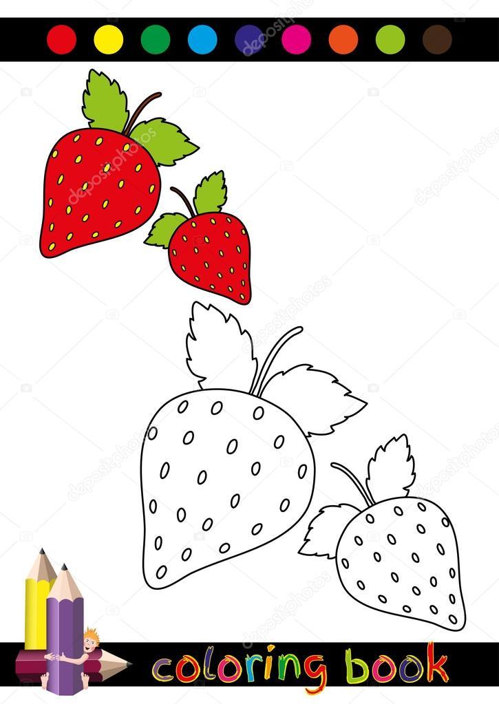 Coloring Book Or Page Cartoon Illustration For Children — Stock Vector ©  AlionaManakova #75100713
