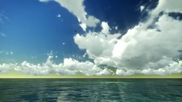 Mračna nad tropický oceán