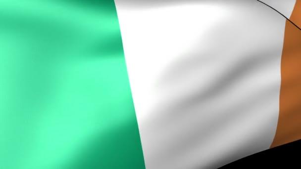 Italy flag waving