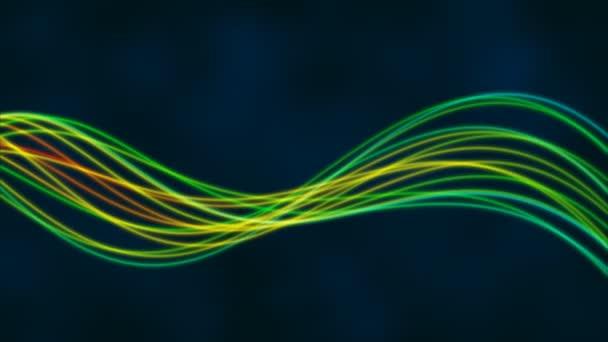 Absztrakt áramló vonalak