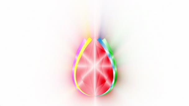 Splendere di logo di RGB