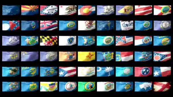 Amerikai Államok zászlót lengetve